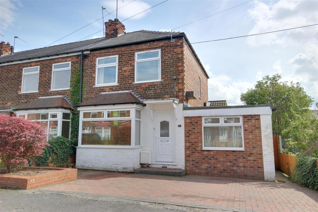 2 Bedrooms End Of Terrace House for sale in Cambridge Road, Hessle