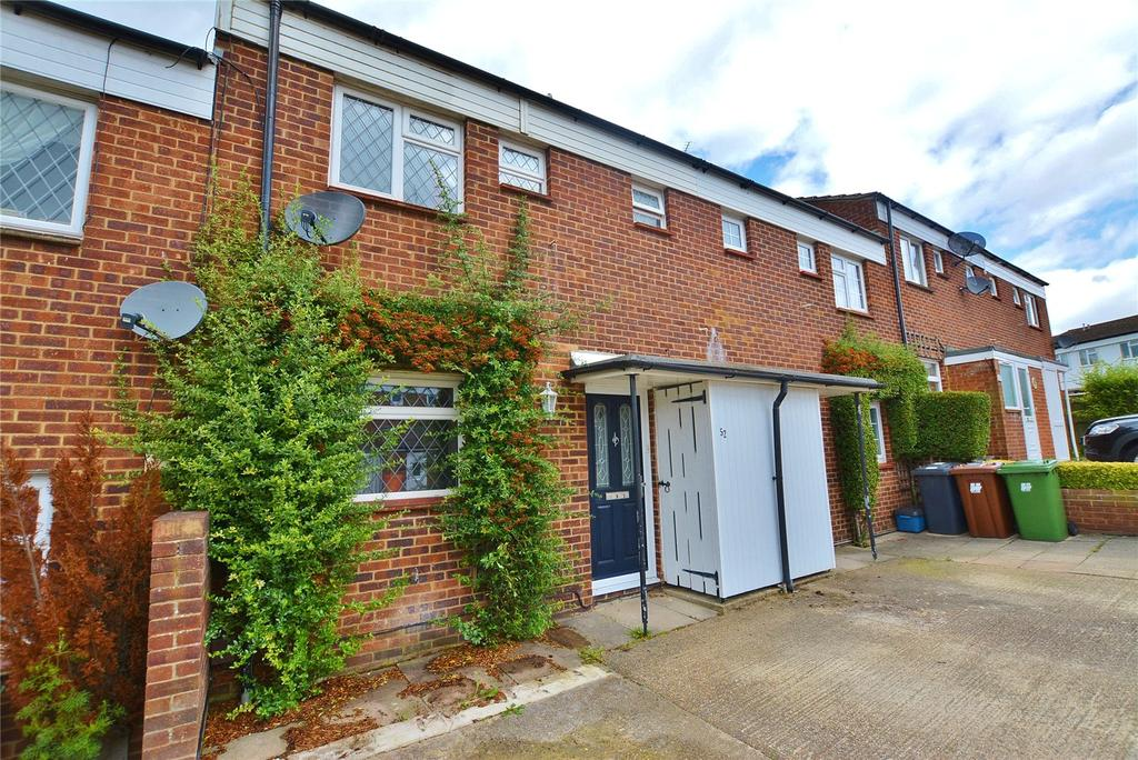 3 Bedrooms Terraced House for sale in Meadow Road, Bushey, Hertfordshire, WD23