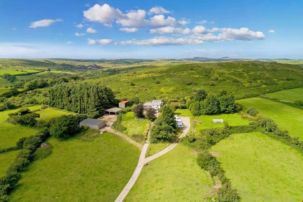 6 Bedrooms Detached House for sale in Warleggan, Bodmin Moor, Cornwall, PL30