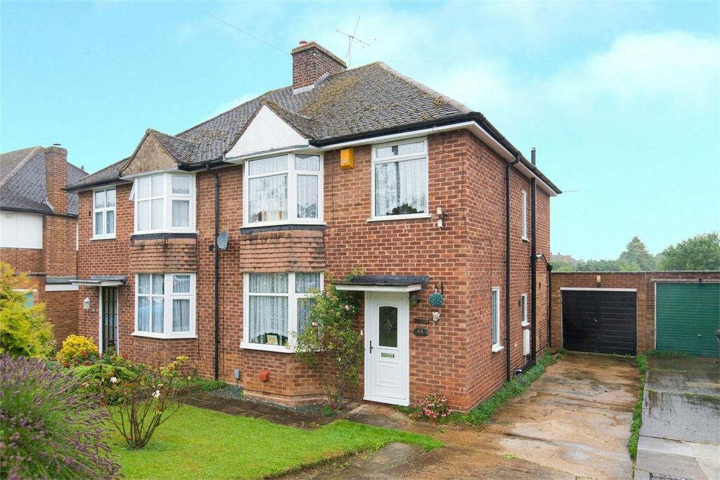 3 Bedrooms Semi Detached House for sale in Redhoods Way East, Letchworth Garden City, Hertfordshire