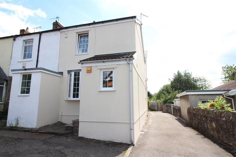 2 Bedrooms End Of Terrace House for sale in Porset Row, Caerphilly