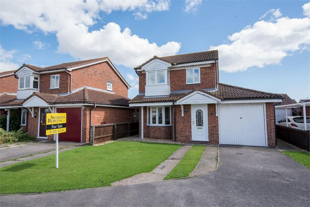 3 Bedrooms Detached House for sale in Bert Allen Drive, Old Leake, Boston, Lincolnshire
