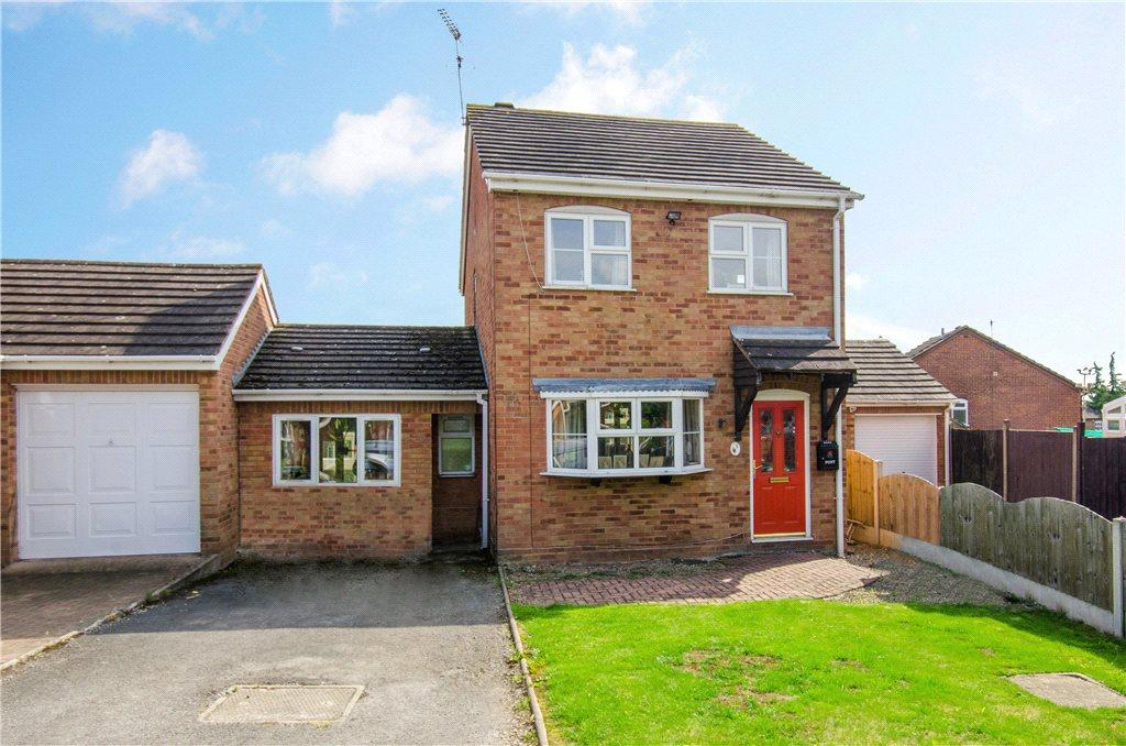 3 Bedrooms Link Detached House for sale in Thames Drive, Droitwich, Worcestershire, WR9