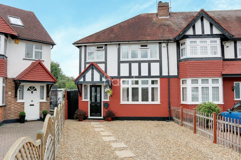 3 Bedrooms End Of Terrace House for sale in Cherry Close, Ruislip