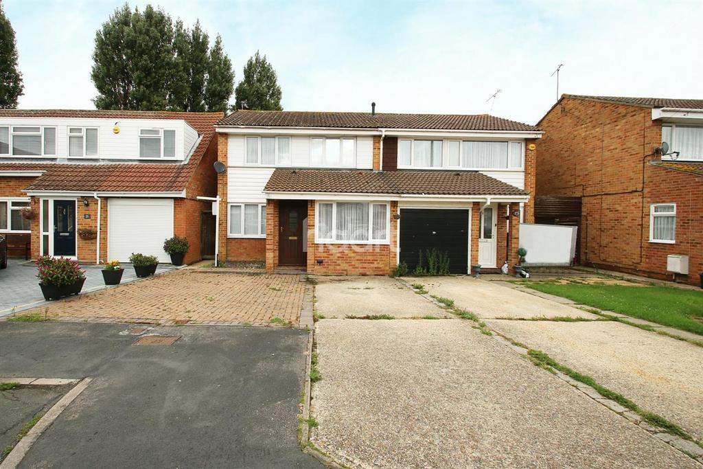 4 Bedrooms Semi Detached House for sale in Rachael Gardens, Silver End, Witham , CM8