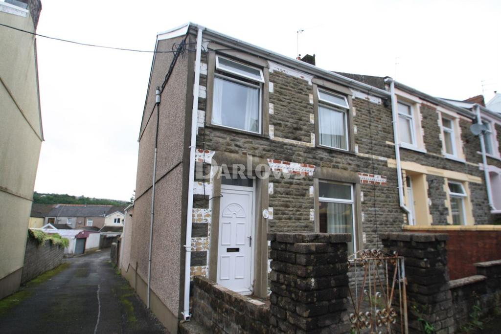 3 Bedrooms End Of Terrace House for sale in James Street, Georgetown, Tredegar, Gwent