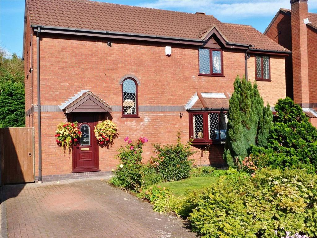 3 Bedrooms Detached House for sale in Batterbee Court, Haslington, Crewe, Cheshire, CW1