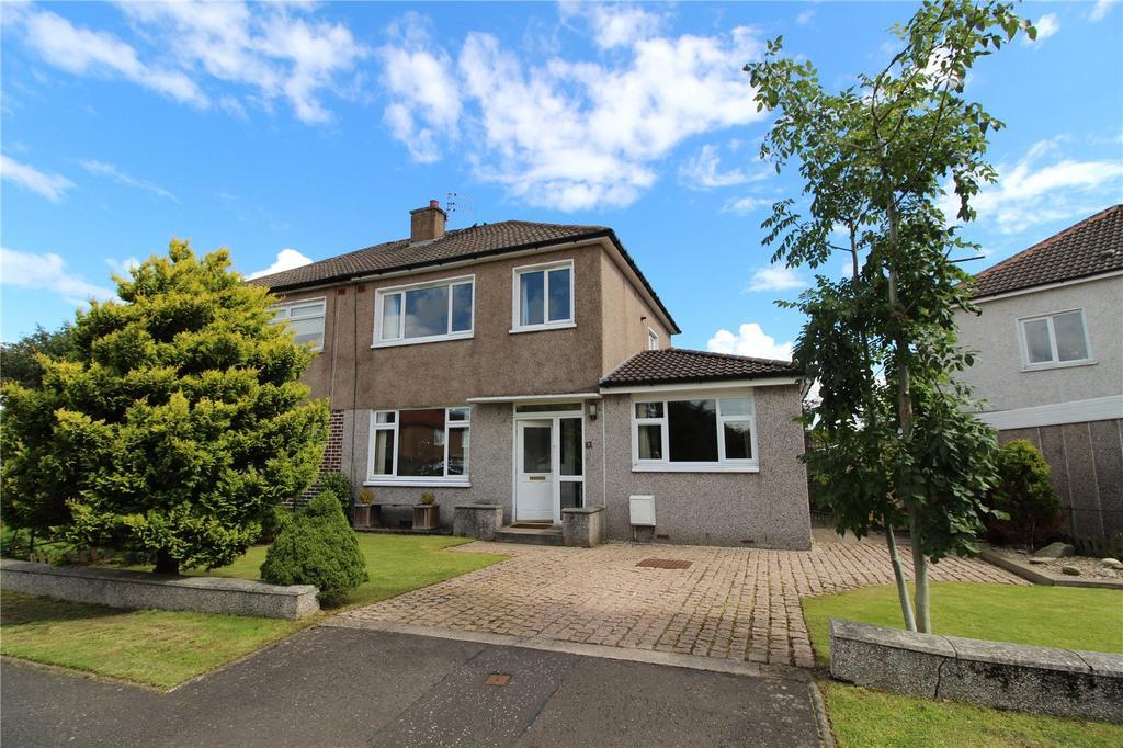 4 Bedrooms Semi Detached House for sale in Glenfinnan Drive, Bearsden, Glasgow