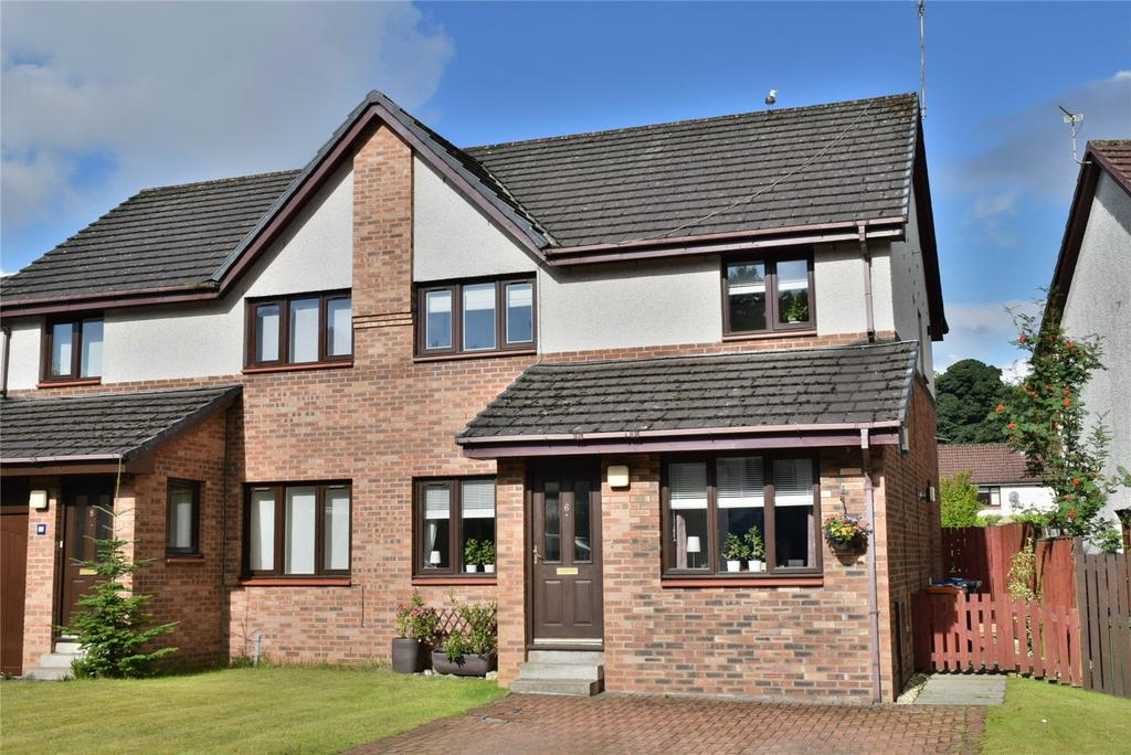 3 Bedrooms Semi Detached House for sale in Auldmurroch Drive, Milngavie, Glasgow
