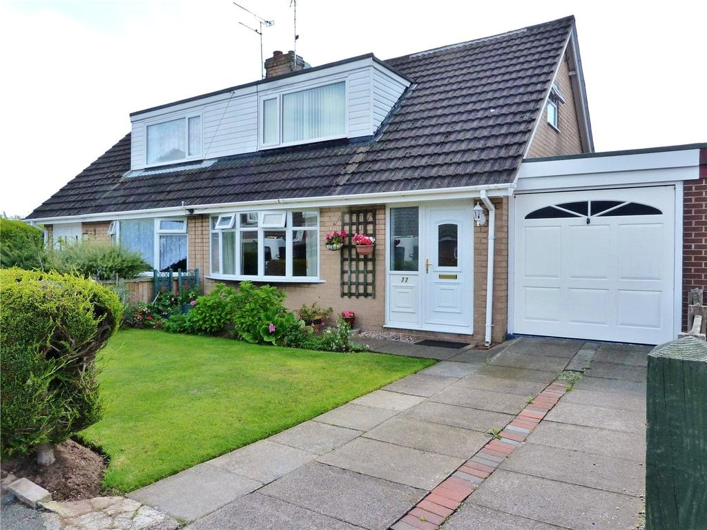 3 Bedrooms Semi Detached Bungalow for sale in Ashcroft Avenue, Shavington, Crewe, Cheshire, CW2