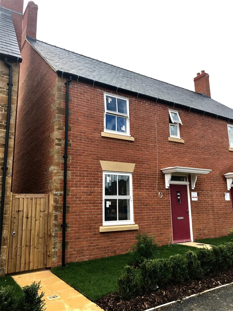 3 Bedrooms Semi Detached House for sale in Holdenby, Little Rushes, Kings Sutton, Banbury, Oxfordshire, OX17