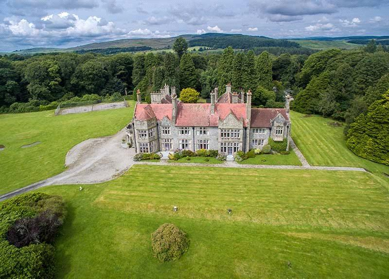 5 Bedrooms Detached House for sale in Shennanton House, Kirkcowan, Dumfries Galloway, DG8