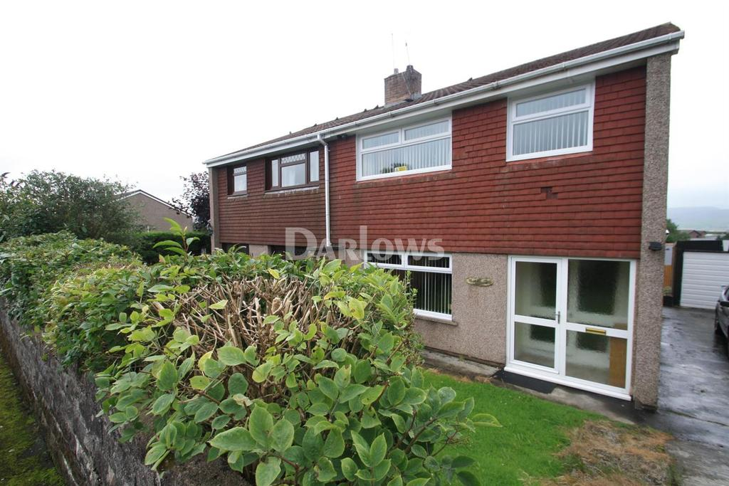 3 Bedrooms Semi Detached House for sale in Aneurin Place, Brynmawr, Blaenau Gwent