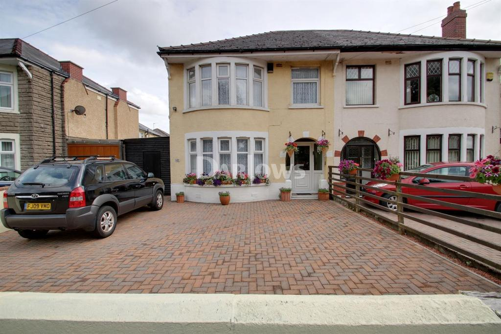 3 Bedrooms Semi Detached House for sale in Newport Road, Rumney, Cardiff