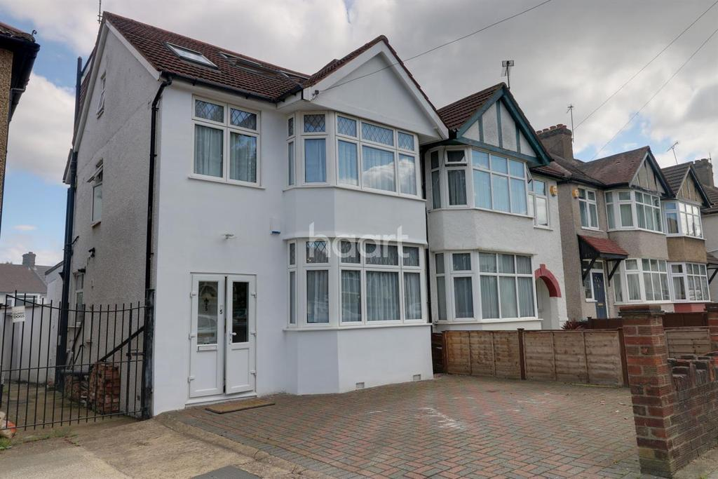 4 Bedrooms Semi Detached House for sale in Lynton Avenue, London NW9