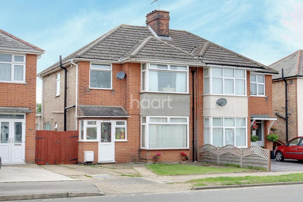 3 Bedrooms Semi Detached House for sale in Gloucester Road, Ipswich