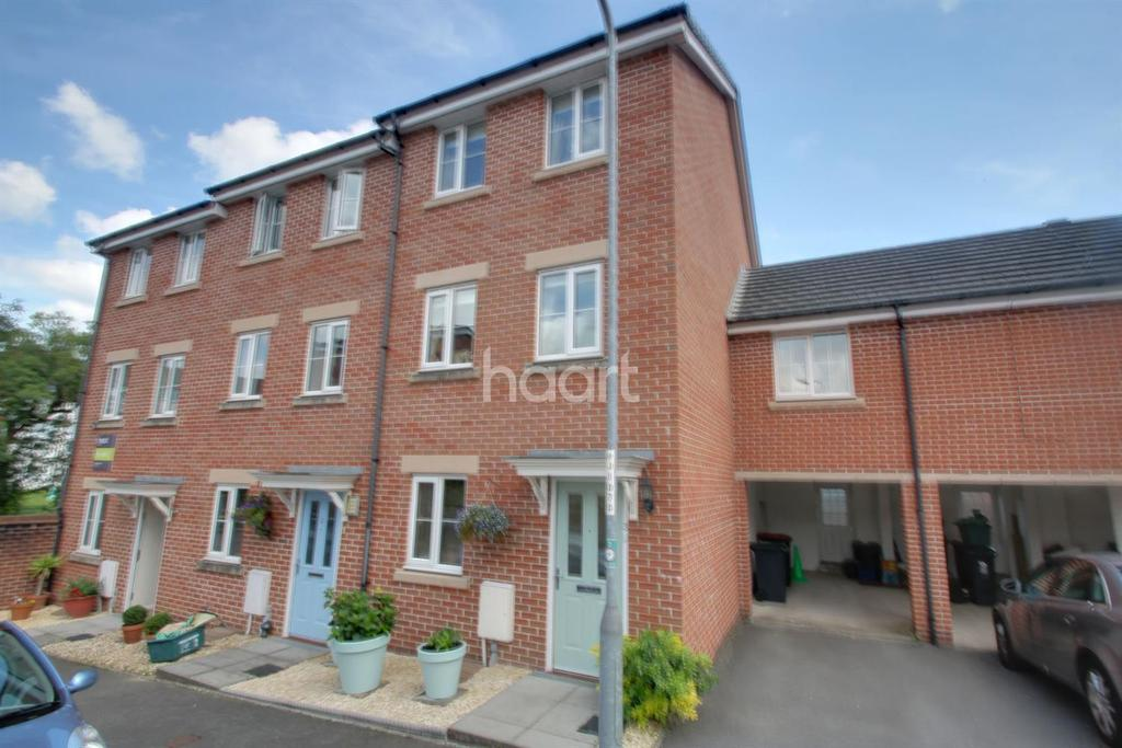 4 Bedrooms End Of Terrace House for sale in Flavius Close, Caerleon, Newport