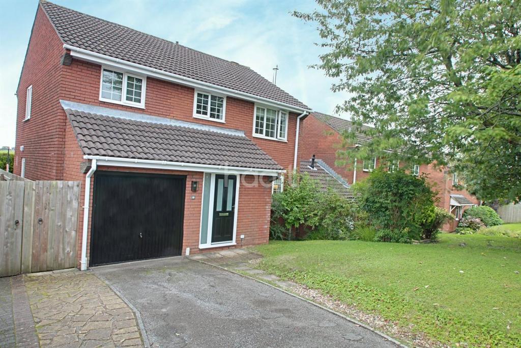5 Bedrooms Detached House for sale in Pensidan View, Rhwderin, Bassaleg, Newport