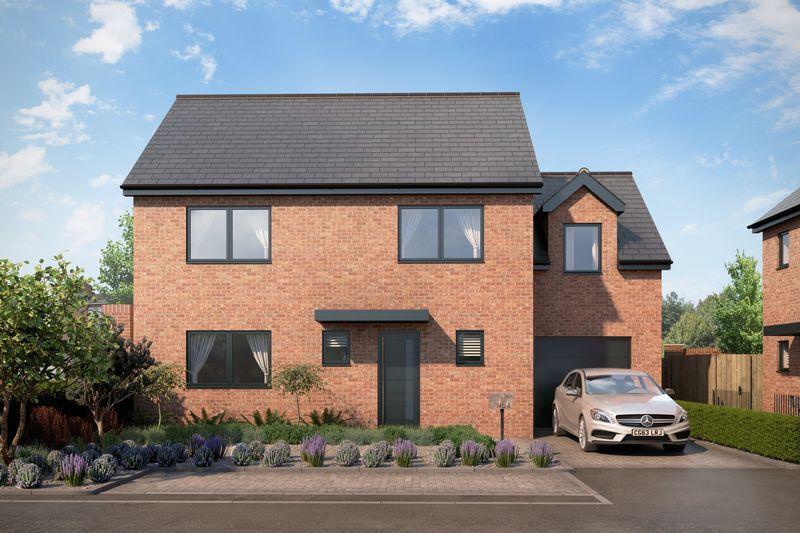 4 Bedrooms Detached House for sale in New homes at Percy Road, Exeter