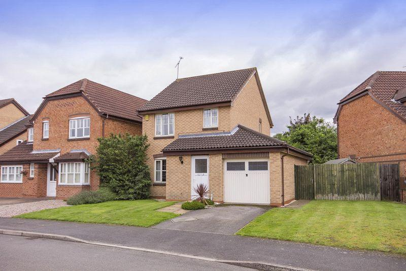 3 Bedrooms Detached House for sale in FOXDELL WAY, CHELLASTON