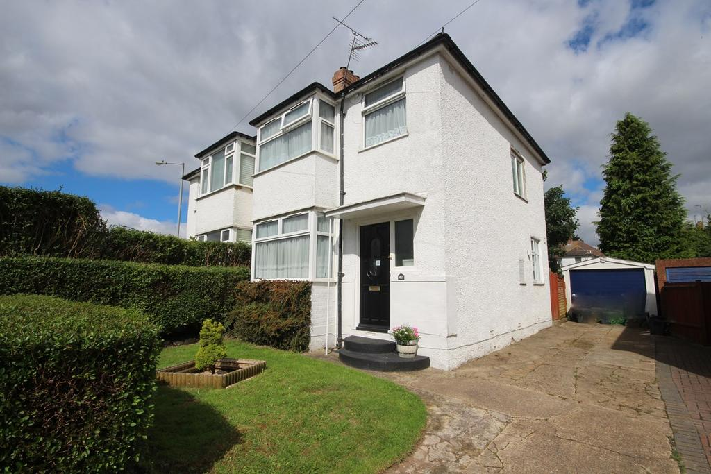 3 Bedrooms Semi Detached House for sale in Fourth Avenue, Sundon Park, Luton, LU3