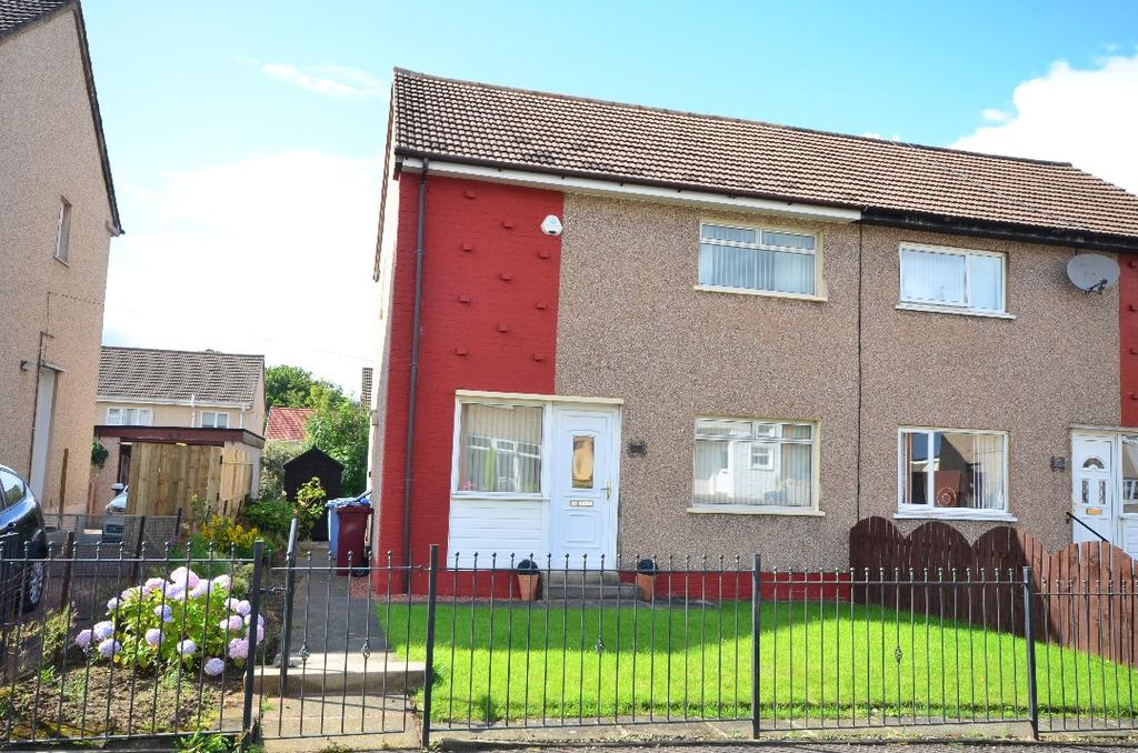 2 Bedrooms Semi Detached House for sale in Crona Drive, Hamilton, South Lanarkshire, ML3 9NY