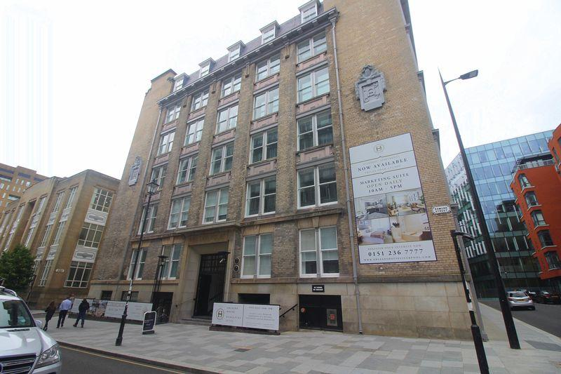 1 Bedroom Apartment Flat for rent in Edmund Street, Liverpool