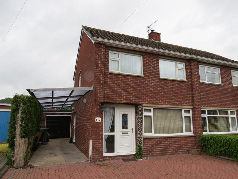 3 Bedrooms Semi Detached House for sale in Tilstock Crescent, Sutton Farm, Shrewsbury, SY2 6HA