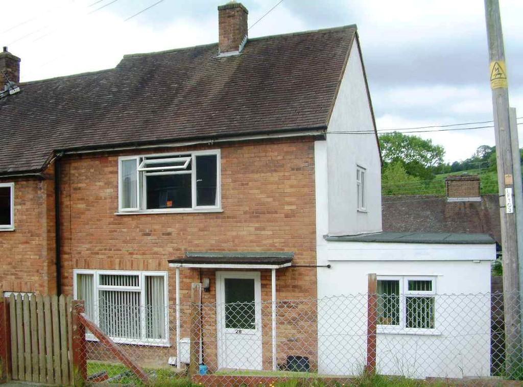 2 Bedrooms Terraced House for sale in Bron Y Gaer, Llanfyllin