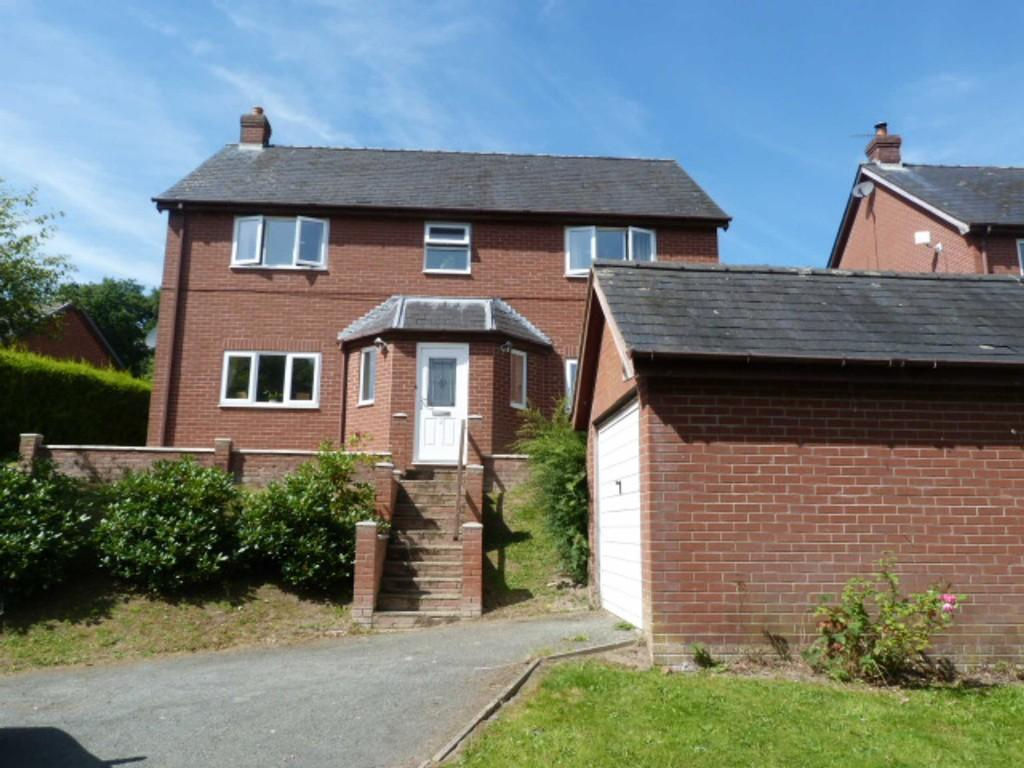 4 Bedrooms Detached House for sale in Glan Y Nant, Newtown