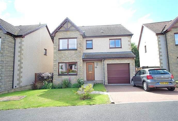 4 Bedrooms Detached House for sale in 56a Bennecourt Drive, Coldstream, TD12 4BY