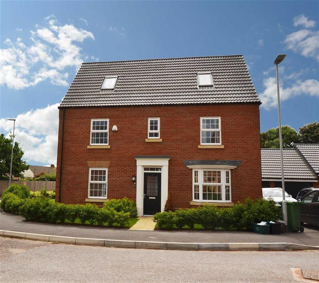 5 Bedrooms Detached House for sale in Hopkins Field, Creech St Michael, Taunton, Somerset, TA3