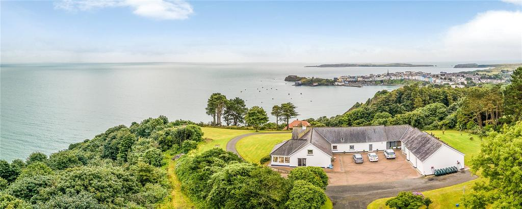 5 Bedrooms Detached Bungalow for sale in North Cliffe, Tenby, Pembrokeshire, SA70