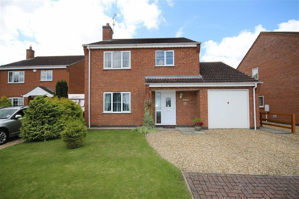 3 Bedrooms Detached House for sale in Meadow Road, Dunston, Lincoln, Lincolnshire