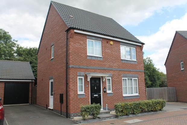 3 Bedrooms Detached House for sale in Clarke Crescent, Countesthorpe, Leicester, LE8