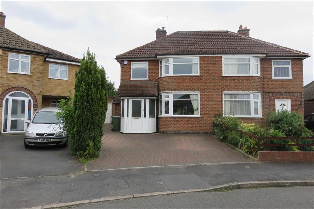 3 Bedrooms Semi Detached House for sale in Sedgefield Drive, Thurnby