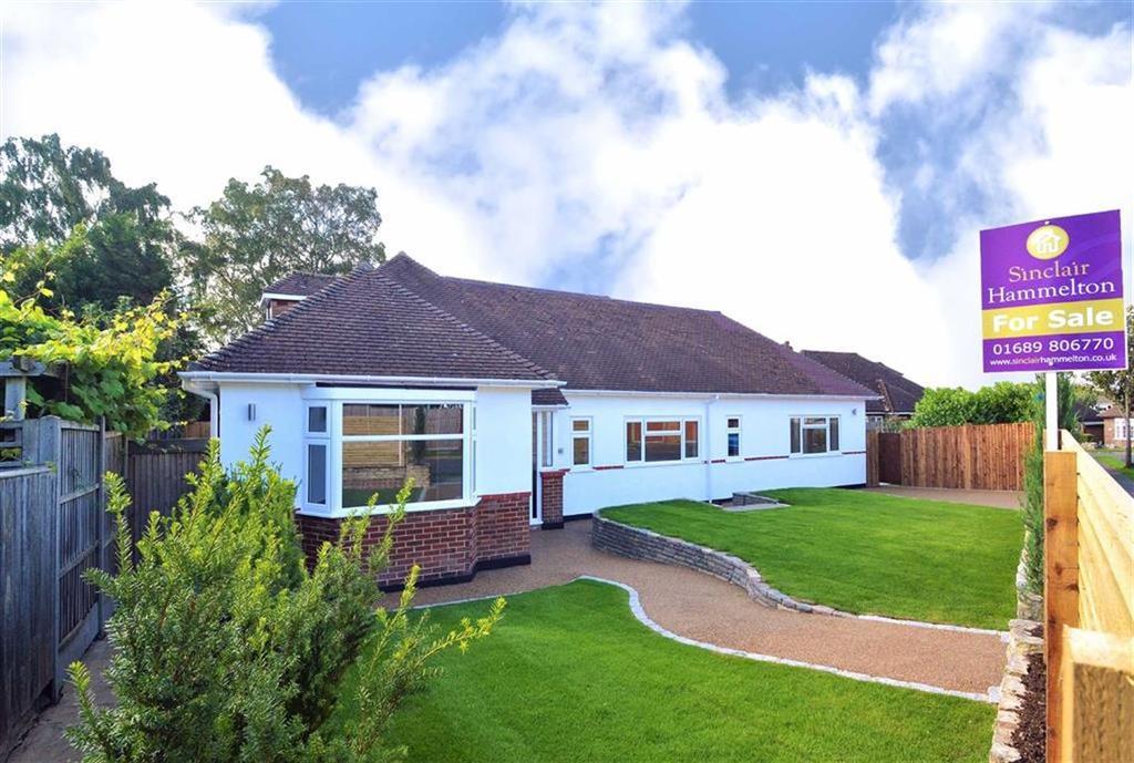 3 Bedrooms Detached Bungalow for sale in Monks Way, Petts Wood, Kent