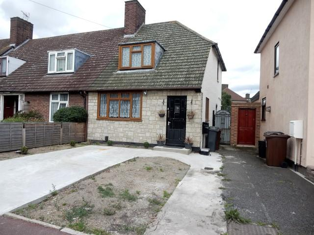 2 Bedrooms End Of Terrace House for sale in TALBOT ROAD, DAGENHAM RM9
