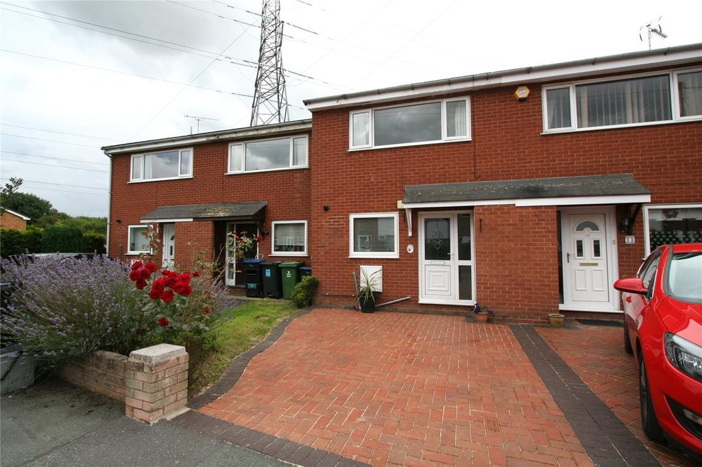 2 Bedrooms Terraced House for sale in Gwalia, Nant Park, Johnstown, Wrexham, LL14