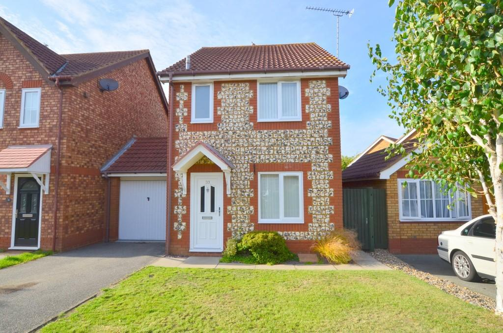3 Bedrooms Link Detached House for sale in Bugsby Way, Kesgrave IP5 2WX