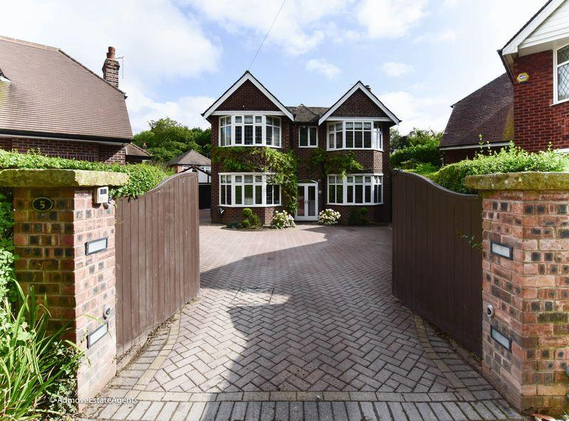 4 Bedrooms Detached House for sale in The Green, Wilmslow