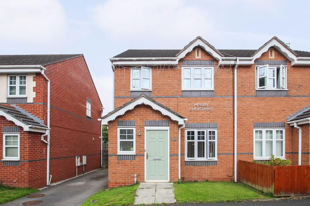 3 Bedrooms Semi Detached House for sale in River Lane, Partington, Manchester, M31