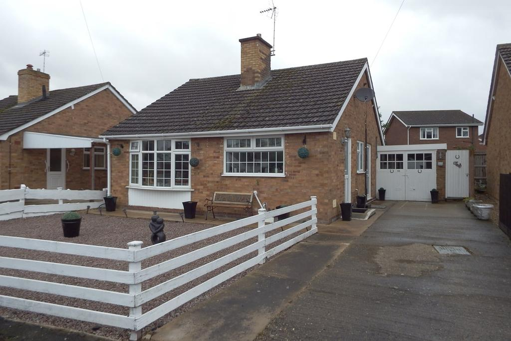 2 Bedrooms Detached Bungalow for sale in Chaucers Way, Spalding, PE11