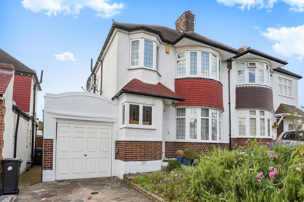 3 Bedrooms Semi Detached House for sale in Townsend Avenue, Southgate