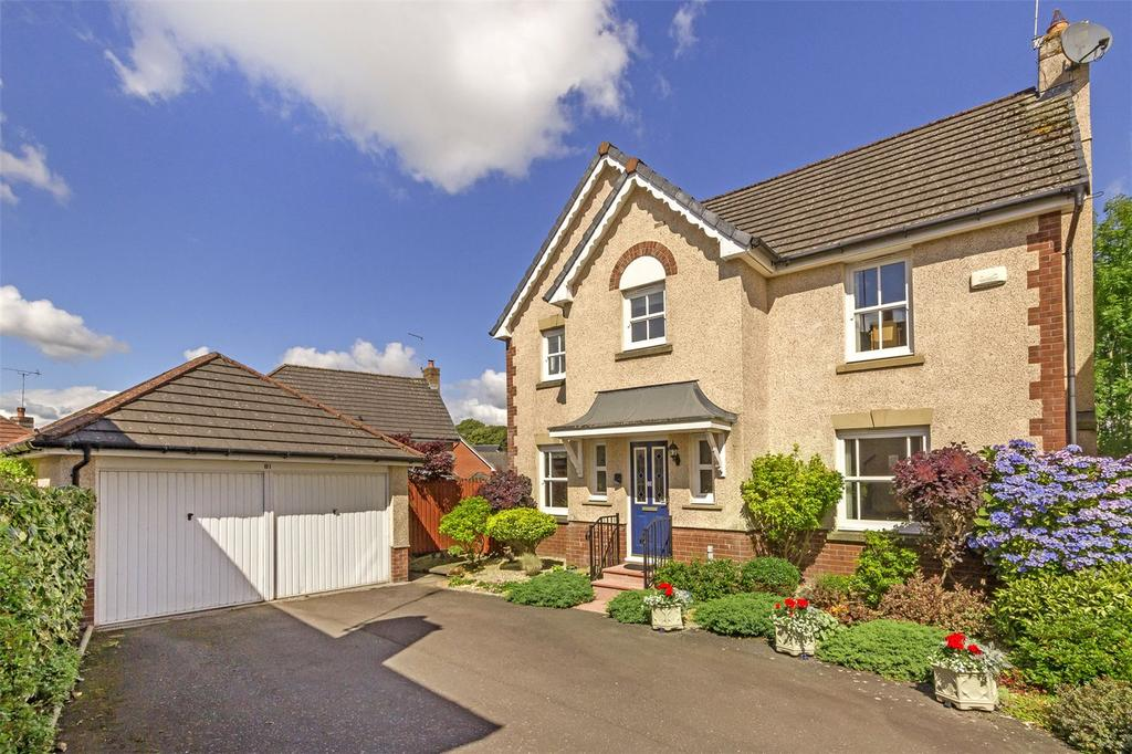 4 Bedrooms Detached House for sale in 81 Bobbin Wynd, Cambusbarron, Stirling, FK7