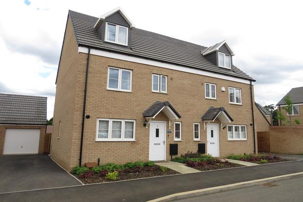 4 Bedrooms Semi Detached House for sale in Dunkley Way, Harlestone Manor, Northampton, NN5