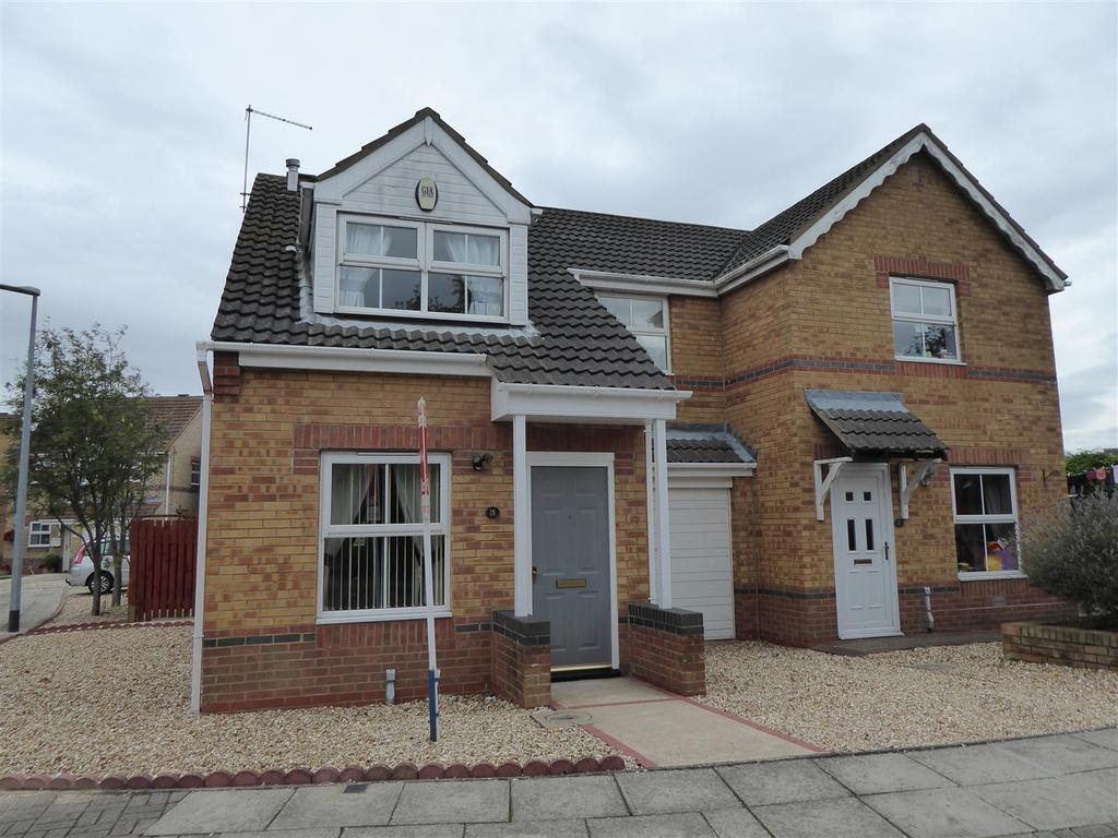 3 Bedrooms Semi Detached House for sale in St. Edmunds Court, Grimsby