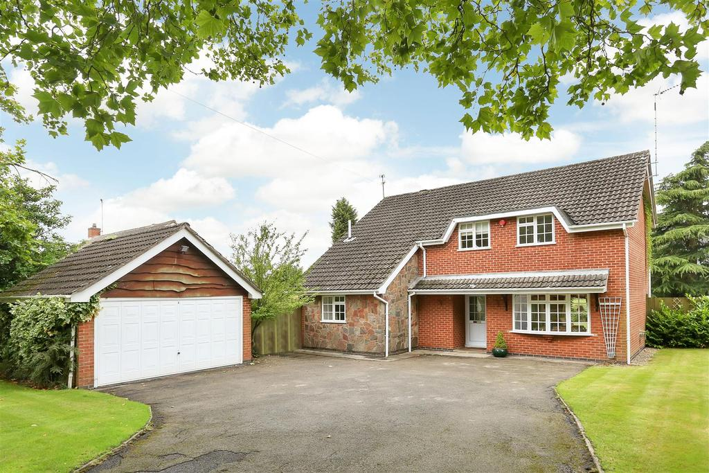 4 Bedrooms House for sale in Swithland Lane, Rothley