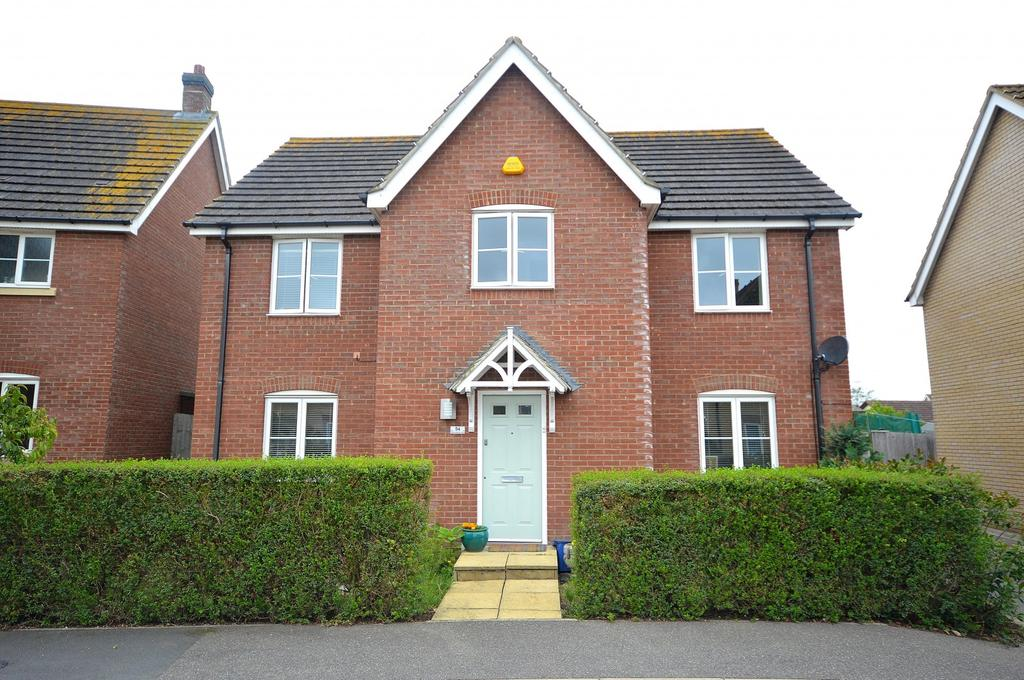 4 Bedrooms Detached House for sale in Anchorage View, St. Lawrence, Southminster, Essex, CM0