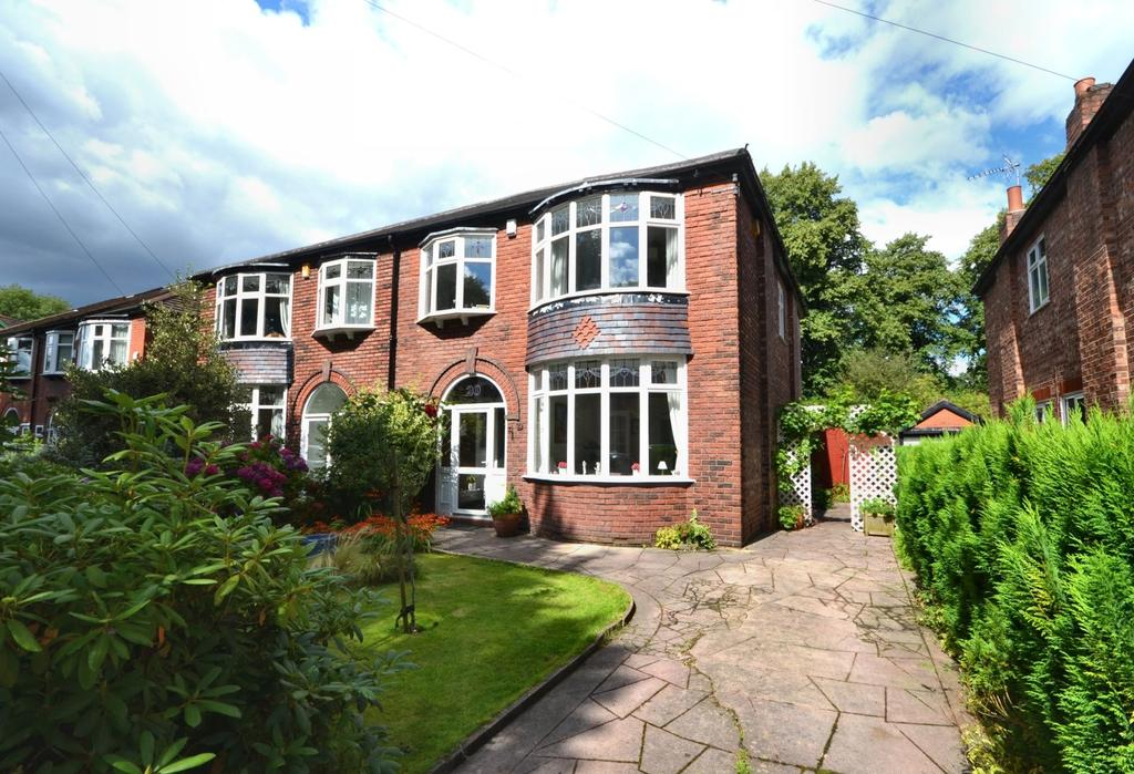 3 Bedrooms Semi Detached House for sale in Longton Avenue, West Didsbury